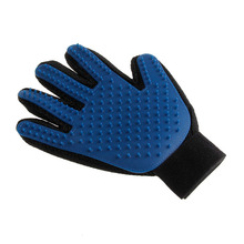 True Touch Deshedding Brush Glove Pet Dog Cat Gentle Efficient Massage Grooming good quality