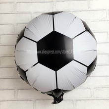 XXPWJ new hot 18 inch football balloons children's toys wholesale wedding party decoration balloons for baby gift I-122(China)