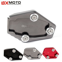For Ducati Multistrada 1200 1200S MONSTER 795 796 821 1200 1200S Motorcycle stands CNC Aluminum Side Stand Enlarge plate