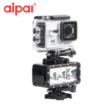 35m Underwater Diving Waterproof LED Flash Fill Light For GoPro Hero 5 4 Xiaomi yi sj4000 Action Camera go pro Accessoriesries.