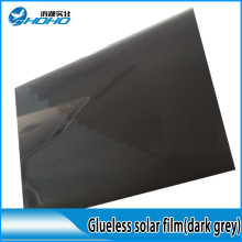 gark grey static cling sticker solar control window tinting film with low price glueless(China)
