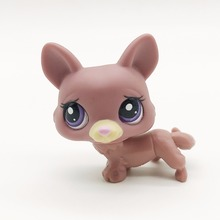 Sad puppy Dog Original 195 1pcs quality toys Lovely Pet shop animal action figure littlest doll toys(China)