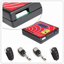 Multi-Function Digital Counter Remote Master Key Maker Frequency Tester Programmer + 4pcs Fixed Code Remote Keys 290-450MHZ