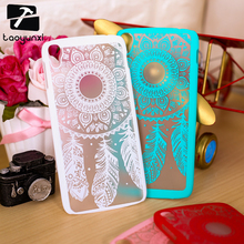 Luxury Dream Catcher Hard Case for Alcatel One Touch Idol 3 5.5 OT-6045 OT6045 6045Y 6045K Phone Covers Plastic Clear Retro Case