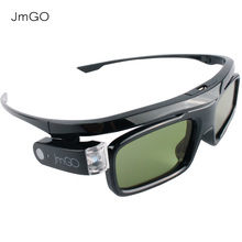 JmGO Gafas Activas 3D Glasses For JmGO P1 P2 G1 G3 G3 Pro EPSON LG Sony Samsung DLP Link Projector and TV(China)
