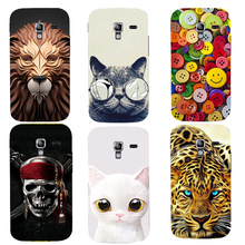 Original Luxury Fashion Printed Case For Samsung Galaxy Ace 2 i8160 Protector Back Cases Skin Hard Plastic Phone Cover Newest