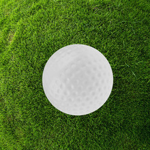 20pcs indoor exercise ball golf professional practice hollow ball - White(China)