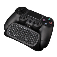 Bluetooth Mini USB Wireless Chatpad Message Keyboard for Playstation 4 gamig Controller 2.4G Wireless chatpad game pad for ps4