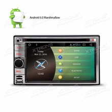 "6.2"" Large Button Design Quad Core Android 6.0 Marshmallow 2 Din Car DVD Double Din Car Radio Two Din Car Multimedia Player"