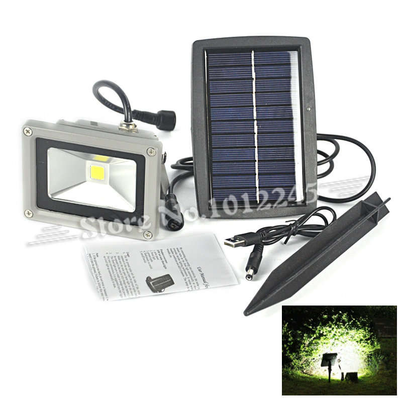 Waterproof Energy saving Solar Powered LED Flood Light Home Outdoor Garden Landscape Spot Wall Lamp Night Light<br><br>Aliexpress
