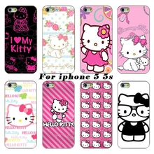 cute hello kitty cell phone bags case cover for iphone 4S 5S 5C SE 6S 7 PLUS Samsung S3 S4 S5 S6 S7 note IPOD Touch 4 5