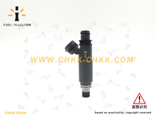 Fuel injector for MAZDA FAMILIA BK 1.6L  Z599-13-250 good quality Z599 13 250
