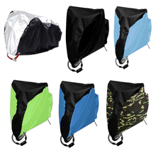 Waterproof Bike Cover Rain Resistant Sun Protection Bicycle Cover Mountain Bike Dust Cover With Storage Bag(China)