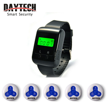 Call Button Wireless Calling Pager System Restaurant Hospital Service Waterproof Buzzer()