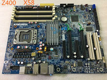 586968-001 For HP WorkStation Z400 Motherboard 586766-002 X58 LGA1366 Mainboard 100%tested fully work(China)