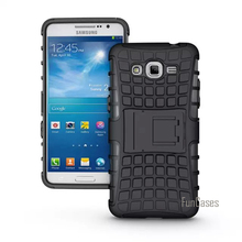 For Samsung Galaxy Grand Prime G530 G5308 Case High Quality Hybrid Kickstand Rugged Rubber Armor Hard PC+TPU Stand Function Case