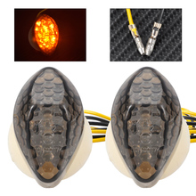 Smoke LED Flush Mount Turn Signal Indicator Light Blinker Marker 33450-MAS-672 For Honda CBR 600RR 1000RR 600 F4i CB 919F 900R