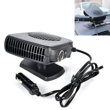 Car Heater 12V Car Heating Fan with Swing-out Handle Windshield Window Glass Defroster Demister Vehicle Electric Heater Dryer
