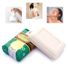 125g Jasmine Fragrance Face Cleaning Bathing Soap Moisture Skin Nutrition Plant Handmade Soap Y2(China)