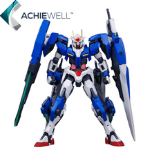 Brand Daban MG 1/100 GN-0000GNHW/7SG 00 Gundam Seven Sword Robot With LED Light Action Figure Japan Model For Fan Collection Toy