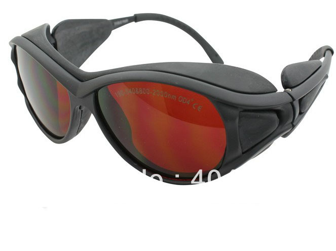 laser safety glasses 190-540nm &amp; 800-2000nm, OLY-LSG-1, CE O.D 4+, High V.L.T %<br>