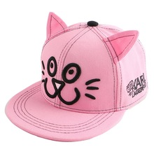 new trendy children child hip hop snapback hat novelty character eye design fitted boy girl brand baseball cap baby casquette(China)