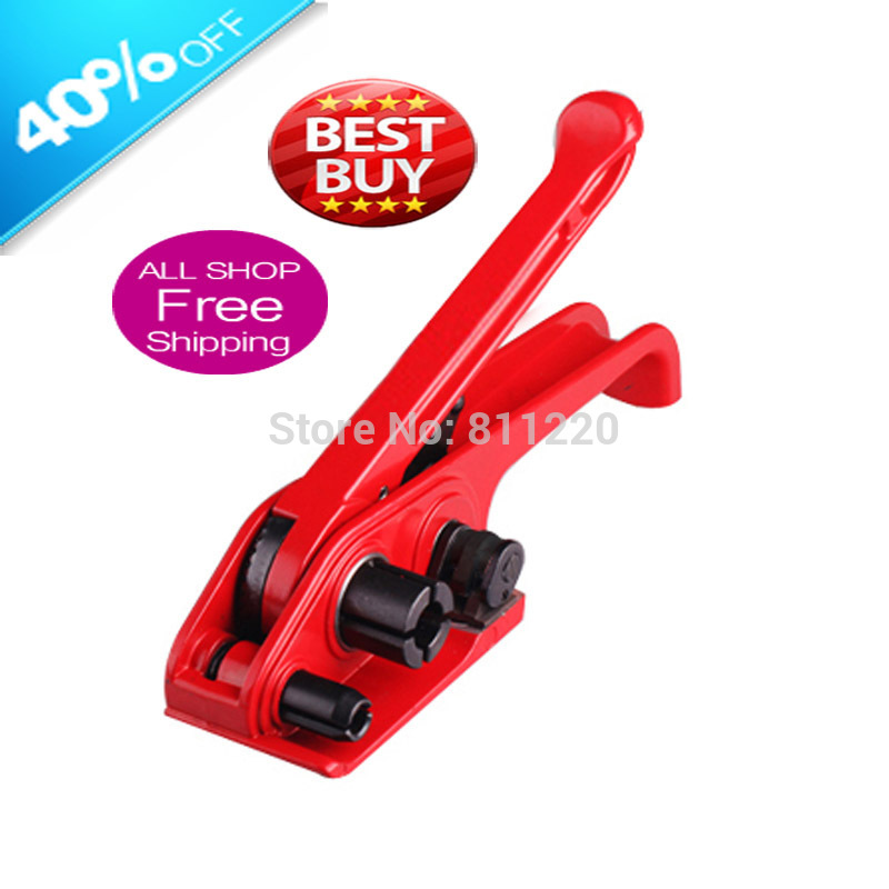 Manual straps tensioner, hand held plastic strapping cut machine, PP PET strapping packaging tools H19, packing, Freeshipping<br><br>Aliexpress