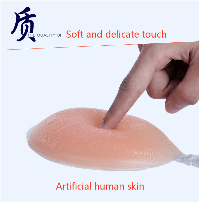 OUBINEW Silicone Bra Big Cup Self-adhesive Stick On Gel Push Up Strapless Backless Invisible Bras Women Seamless underwear Wed 6