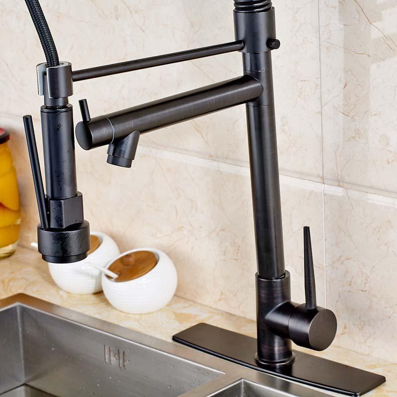 Oil-Rubbed-Bronze-Countertop-LED-Spout-Kitchen-Sink-Faucet-Single-Handle-Swivel-Spout-Mixer-Tap (4)