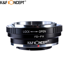 Buy K&F CONCEPT FD-FX Camera Lens Mount Adapter Ring Canon FD Lens Fujifilm FX Mount X-Pro1 X-E1 X-A1 X-M1 Camera Body for $20.99 in AliExpress store