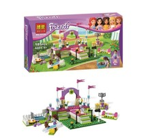 TraVelMall New in Box Friends Heartlake Dog Show Mia  figures Girls 10159 Building Blocks Toy Doll for kids gift