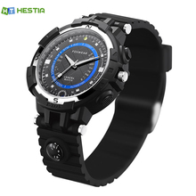 HESTIA Fox 8 Smart Watch With Compass Led Flashlight Camera Wifi Remote Video Minitor HD Video Recorder Watch For Android IOS(China)