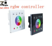 rgbw led controller touch panel,led rgbw remote dimmer controller for smd 5050 3528 3014 rgbw strip bulb dc 12v