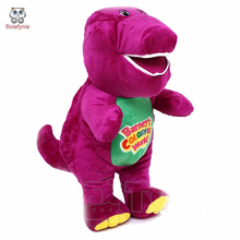 BOLAFYNIA Purple dinosaur Barney plush toy doll children Stuffed toy birthday gift(China)