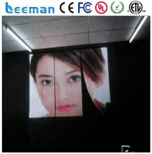 Leeman Sinoela P10 P16 P20 P25 see-through led stage curtain portable flexible led screen / P12.5 led strip curtain display