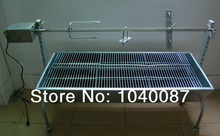 automatic charcoal BBQ ,motor BBQ,charcoal bbq barbecue grill,roasted pig,sheep etc