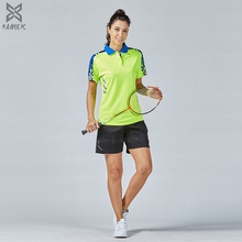 Top Quality Sport Kits Badminton Shirts sets clothes women golf shirts suits Couple Breathable Table Tennis Clothing new 2017