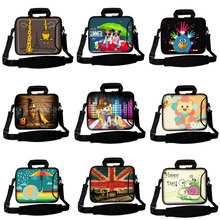 "DIY Print Your Photo Pet Laptop Shoulder Bag Sleeve Pouch Notebook Messenger Case Briefcase 11""12""13""14""15""17"