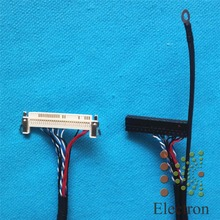 FIX-30P-D8 LVDS Cable 60Pin Single 8bit 60cm Right Power for Samsung Large Size LCD TV Monitor
