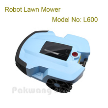 PAKWANG L600 8AH Robot Lawn mower with 2 independent  4Ah Lithium battery, 4 blades field mower robotic, Father's Gift
