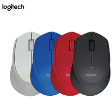 Logitech M280 2.4G Wireless Mouse Gaming Lap Top PC Gamer Ergonomic Optical Genuine Noiseless Mouse Mice Computer Games Receiver