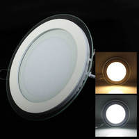 10pcs/lot Dimmable led panel light LED Ceiling Recessed Light AC85-265V LED Downlight SMD 5730 6W12W 18W Warm/Cool