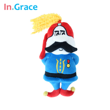 army general doll funny unique general dolls for kids boys unique gift free shipping cute stuffed doll 20CM high quality boy toy