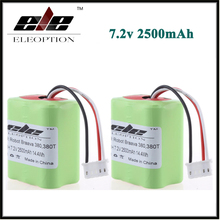 2x Eleoption New 7.2V 2500mAh Vacuum Replacement Battery For iRobot Roomba Braava 380 & 380T US(China)