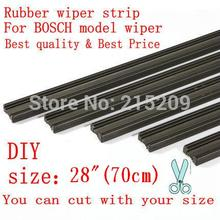 "Free shipping Auto Car Vehicle Insert Rubber strip Wiper Blade (Refill) 6mm Soft 28"" 700mm 2pcs/lot car accessories(China)"