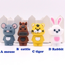 usb flash drive disk Chinese Zodiac animal snake chicken rabbit tiger monkey dog memory stick pendrive Pen drive 8GB 16GB 32GB