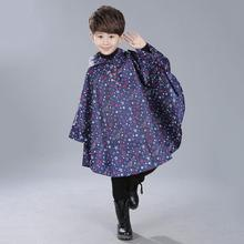 Raincoat Waterproof Poncho Children Girls Kids for Star Boys Veste Pluie Femme