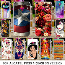 TAOYUNXI Case Cover For Alcatel OneTouch Pixi 3 4.5 inch 3G Version 4027 4028 one touch pixi3 OT 4027D 4028A 4028E 4028D Cover