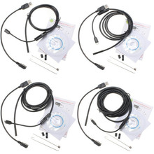 NEW Hot Sale 1M 1.5M 2M 3.5M 7mm IP67 Waterproof USB Endoscope 6 LED Inspection Borescope Tube Snake Camera For Android PC