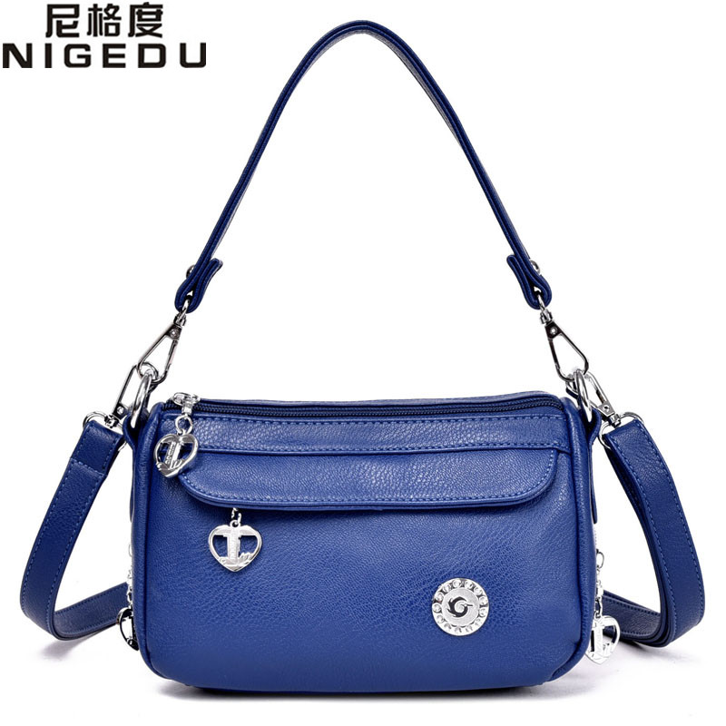 2017 NEW PU Leather women messenger bag small crossbody bags for womens shoulder bag female handbag Totes free shipping<br><br>Aliexpress
